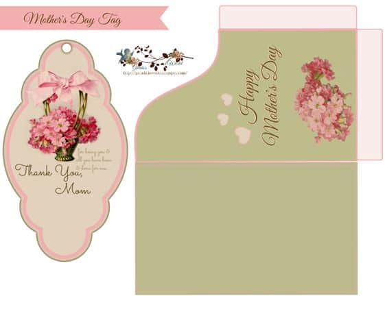 Mother S Day Tags: Free Mother's Day Printable Gift Tags
