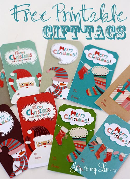 Free Printable Christmas Gift Tags Meaningful Gifts For Her
