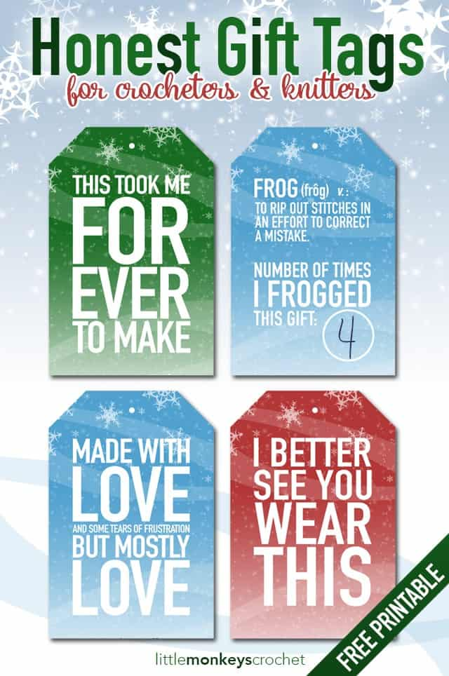 Free Printable Christmas Gift Tags - Meaningful Gifts for Her