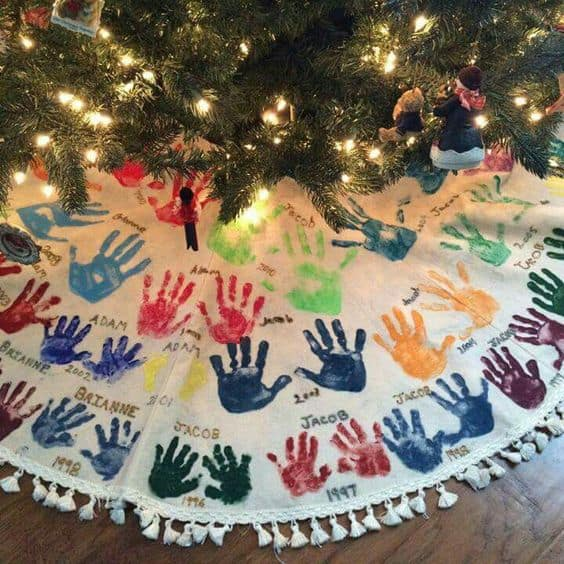 Homemade Handprint Gifts For Grandma Meaningful Gifts